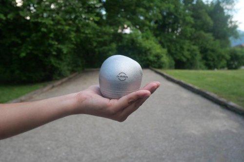 Annecy : il invente la boule de pétanque asymétrique avec une betterave congelée