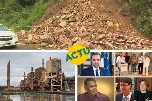 SLN, politique , pluies, golf : l'actu à la 1 du mercredi 13 janvier 2021 - Nouvelle-Calédonie la 1ère