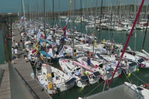Talmont-Saint-Hilaire, Vendée : des skippers se préparent pour la transat Mini Gascogne