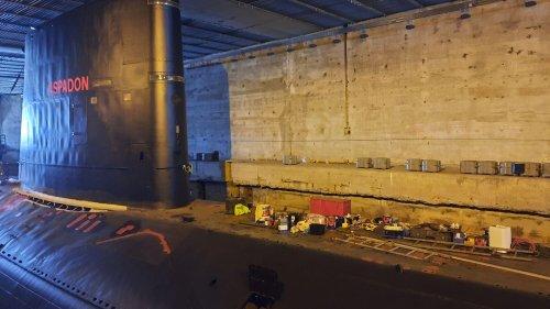 """""""L'Espadon"""", seul sous-marin à flot visitable en France, est en restauration : """"On y va centimètre carré par centimètre carré"""""""