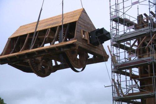 Restauré pendant 3 ans, le moulin de Stavèle fait son grand retour à la Cité souterraine de Naours dans la Somme