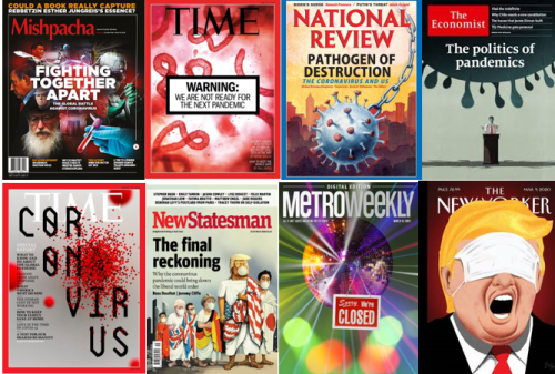 Pandemic Magazine Covers - Media Literacy Clearinghouse