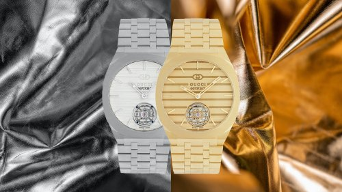 Gucci Enters Serious Watchmaking With The Gucci 25H collection