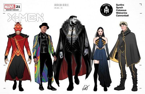 New Costume Designs for the Hellfire Gala Sizzle! - Freaksugar