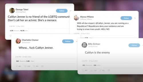 WATCH: Hollywood Elites Abandon Support for Trans Woman When She Runs as a Republican - Washington Free Beacon