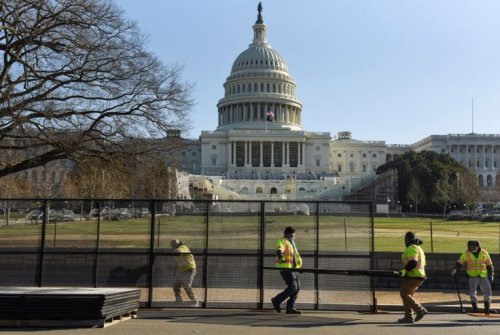 Republicans Press for Removal of Capitol Security Fence - Washington Free Beacon
