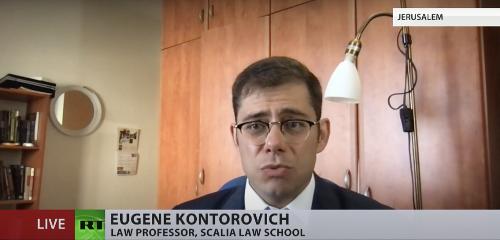YouTube Removes Video of Legal Scholar Defending Israeli Airstrikes - Washington Free Beacon