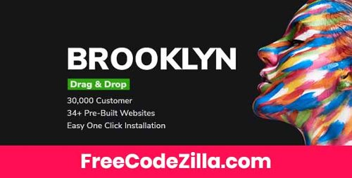 Brooklyn v4.9.6 - Creative Multi-Purpose Responsive WordPress Theme Free Download