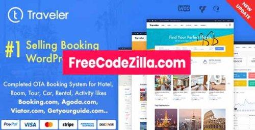 Traveler v2.9.4 Nulled - Travel Booking WordPress Theme