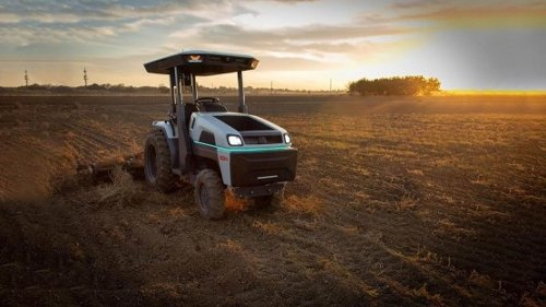 See the World's First Fully Electric, Self-Driving Tractor