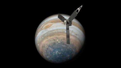 NASA Probe Snaps Stunning Photos of Ganymede