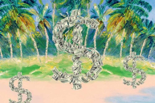 Steuern - Ein halber Bruch