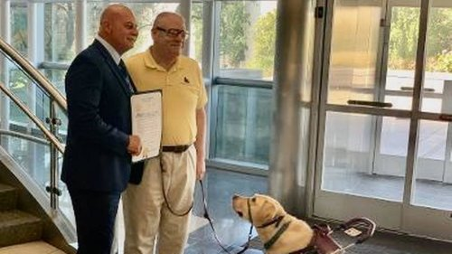 Fresno declares a special week to honor assistance dogs who do so much for their humans