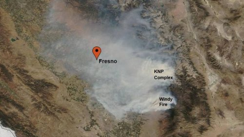 Air quality rises to unhealthy levels in Fresno, Clovis region from Sequoia wildfires