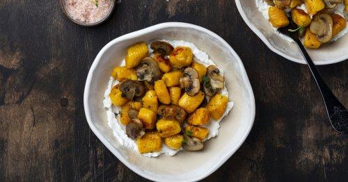 Rezept für den Herbst: Kürbis-Gnocchi mit Pilzen   freundin.de