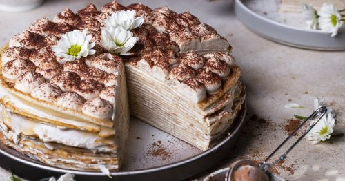 Süßes Rezept: Tiramisu-Crêpes-Torte | freundin.de