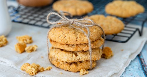 Rezept: Schnelle 5-Zutaten-Kekse von Jamie Oliver   freundin.de