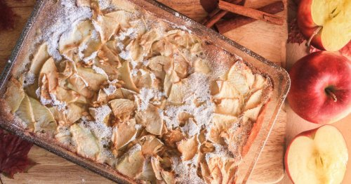 Schnelles Rezept: Schwedischer Apfel-Biskuit-Kuchen mit Zimt | freundin.de