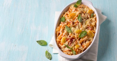 Blitzrezept: Gebackene Spaghetti aus dem Ofen | freundin.de