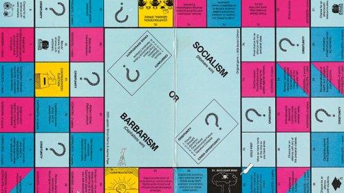 Simon Denny and Joanna Pope's Board Game for Class Warfare