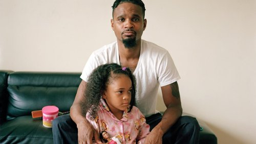Larry W. Cook Photographs the Vulnerability of Black Fatherhood
