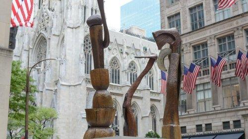 Open Now: Frieze Sculpture at Rockefeller Center 2020