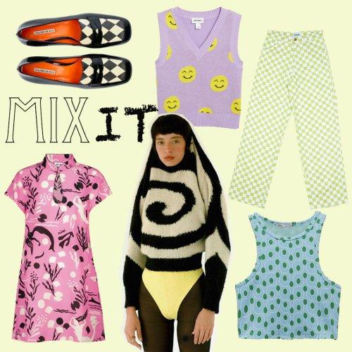 Mix it: Die neuen Muster in der Mode | Frollein Herr