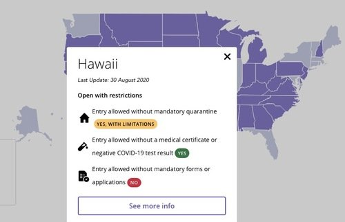 Try These Two Maps to Track Covid-19 Restrictions State-By-State in the USA   Frommer's