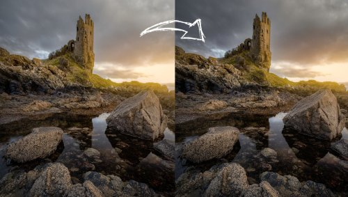 How to Create Depth in Color Images Using Black and White