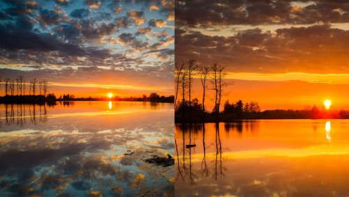 How to Get an Impressive Red Sky in Your Landscape Photos