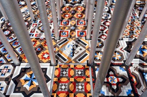The Ekklesia Pavilion in Valencia