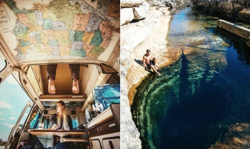 Beautiful Instagram Account Based on Travel Experiences