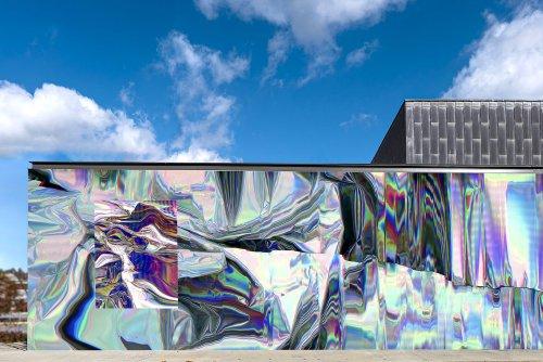 Stunning Fluid Installation by Anne Vieux