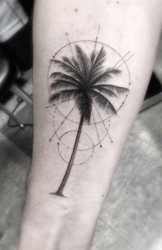 Elegant Geometric Tattoos