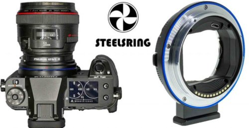 Steelsring Nikon F/GFX, Canon EF/GFX and C645/GFX Firmware Updates adds Fujifilm GFX100S Support and More - Fuji Rumors