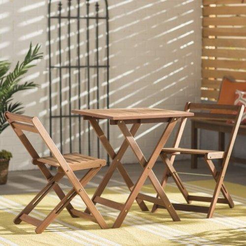 #12 Bộ bàn ghế ban công chung cư đẹp, hiện đại và tiện dụng   Furaka