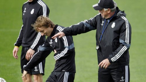 """Modric schwärmt von Ancelotti: """"Es ist eine unheimliche Freude"""""""