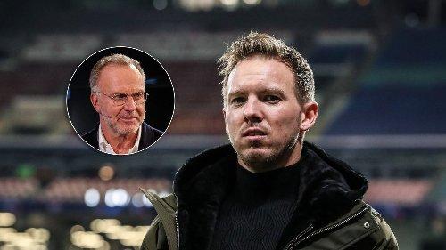 Medien: Rummenigge traut Nagelsmann Bayern-Job noch nicht zu
