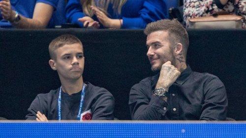 Auf den Spuren seines Vaters: Romeo Beckham gibt Profi-Debüt