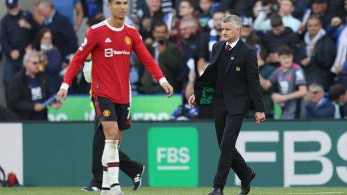 Bei ManUnited-Pleite: Äffte Ronaldo Solskjaers Anweisungen nach?