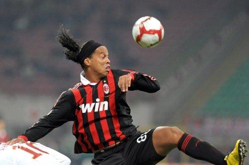 Ronaldinho drückt dem AC Mailand nach wie vor die Daumen