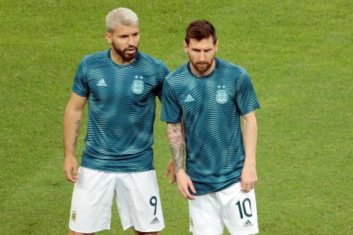 """Sergio Agüero: """"Bin mit der Erwartung gekommen, mit Lionel Messi zu spielen"""""""