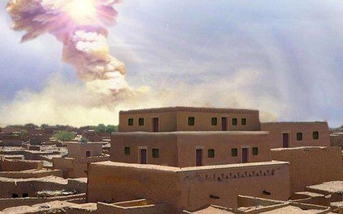 La région de l'antique Sodome a bien été rasée par une météorite il y a 3.600 ans