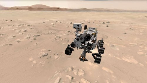 Mars : découvrez en 3D l'environnement exploré par Perseverance