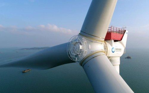 Les Chinois dévoilent l'éolienne la plus grande du monde