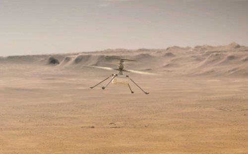 10e vol d'Ingenuity : l'hélicoptère vient de réaliser son parcours le plus complexe au-dessus de Mars