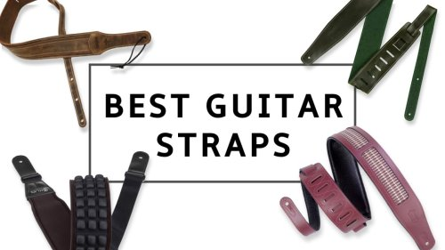 9 best guitar straps 2021: play in comfort and secure your guitar in style