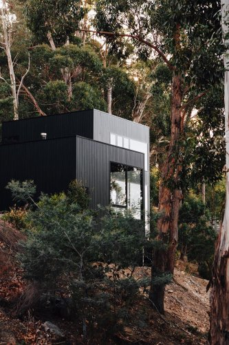 Explore this ultra-modern house on the hill in Hobart, Australia
