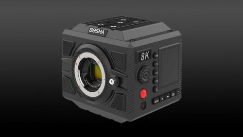 This is the latest 8K camera – and you've never heard of its manufacturer