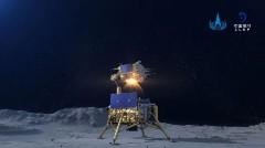 Discover lunar lander